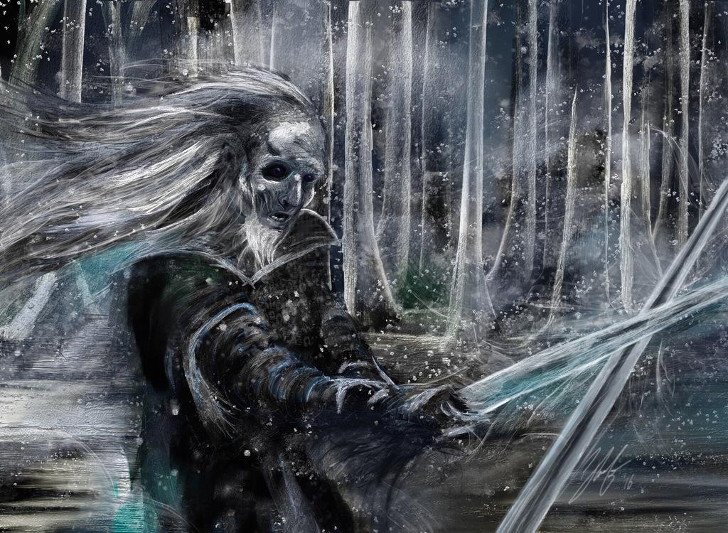 Most recent image: White Walker