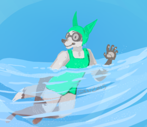 I Only Swim Free