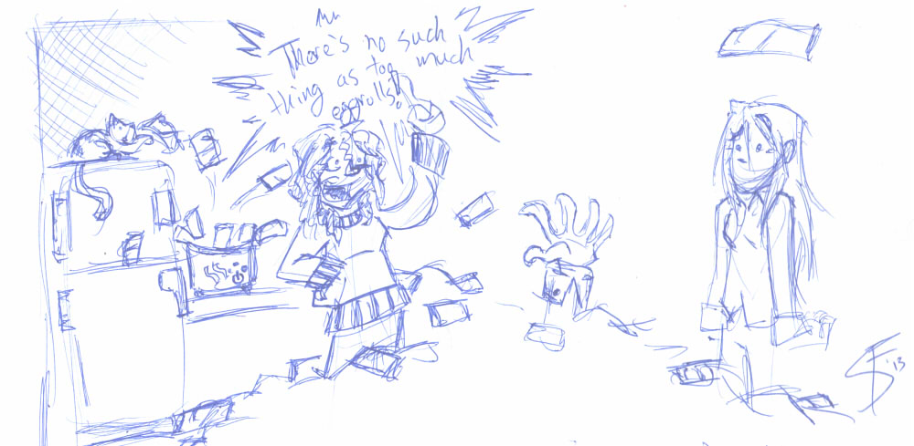 2013-03-08 - Ink Poop - Eggrolls!