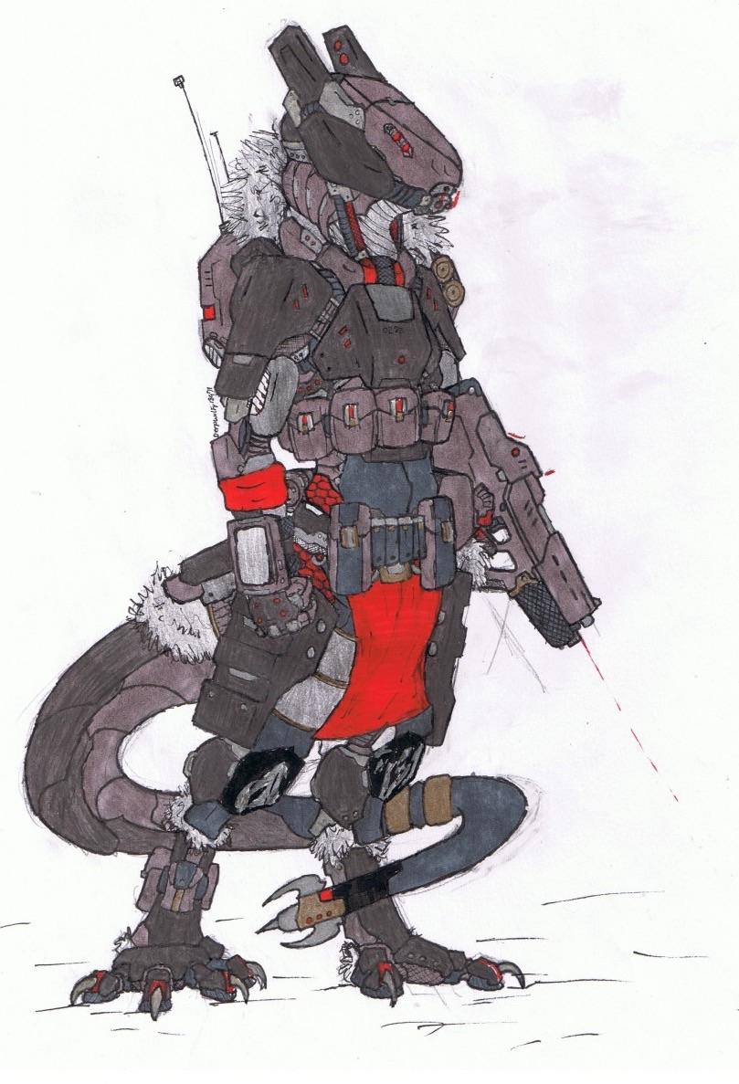 Most recent image: Sergal extreme condition suit