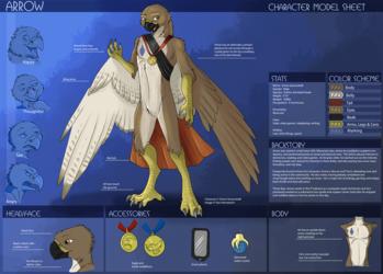Arrow Quivershaft character sheet by Ulario