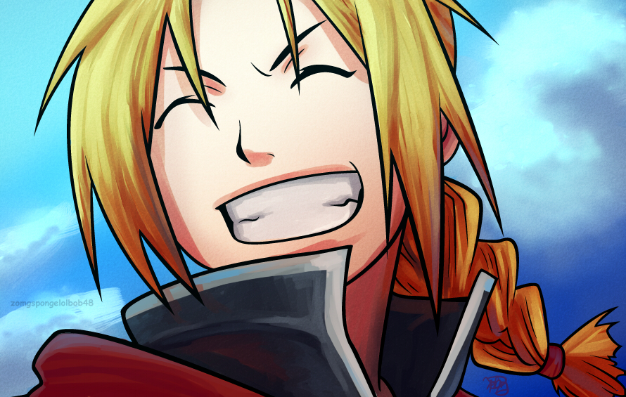 Edward Elric- Colored