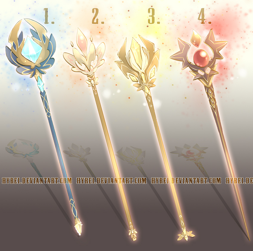 Auction : Weapon Adopt Set 18 [CLOSED]