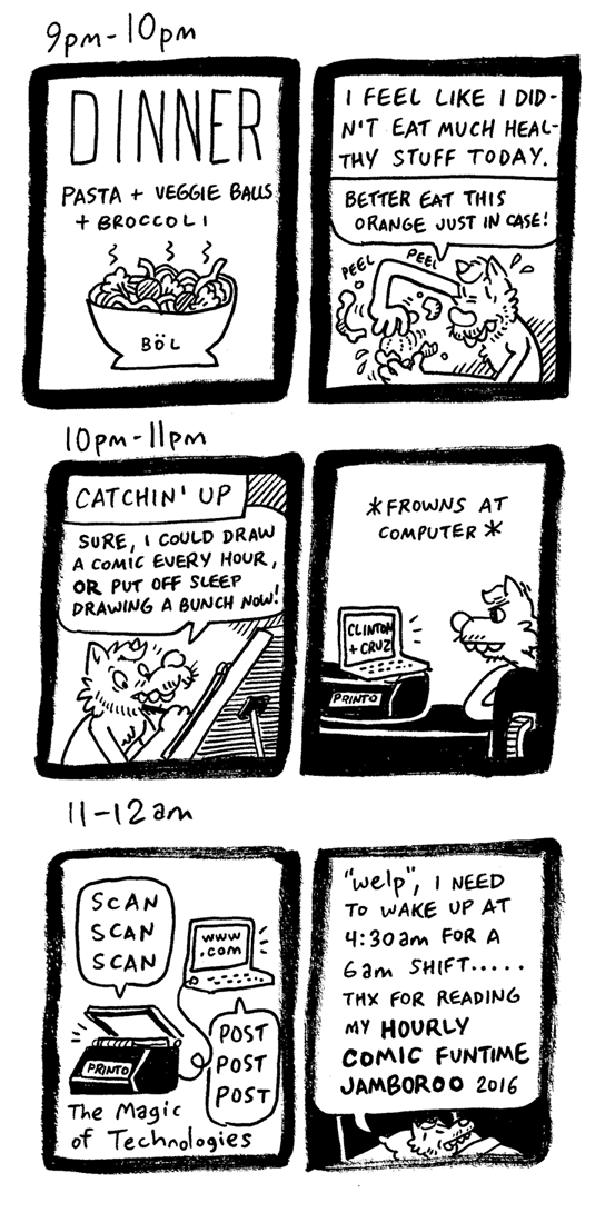Hourly Comic Day #5