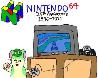 Happy 25th Anniversary Nintendo 64!