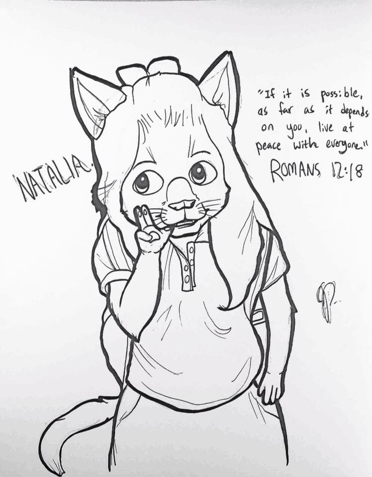 Natalia Says Peace (October 2017)