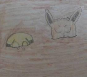 Let's sink Pikachu & Eevee!