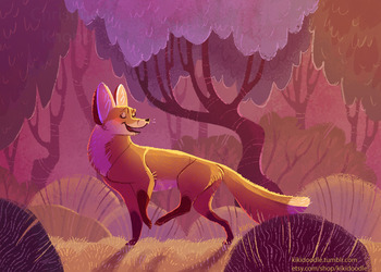 Fox in Burgundy