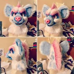 Fursuit Project - Hyena Head