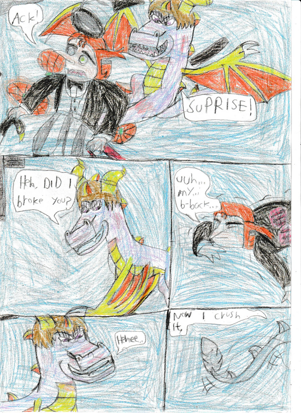 Legend of dragon: Bird and dragon:Pg 58