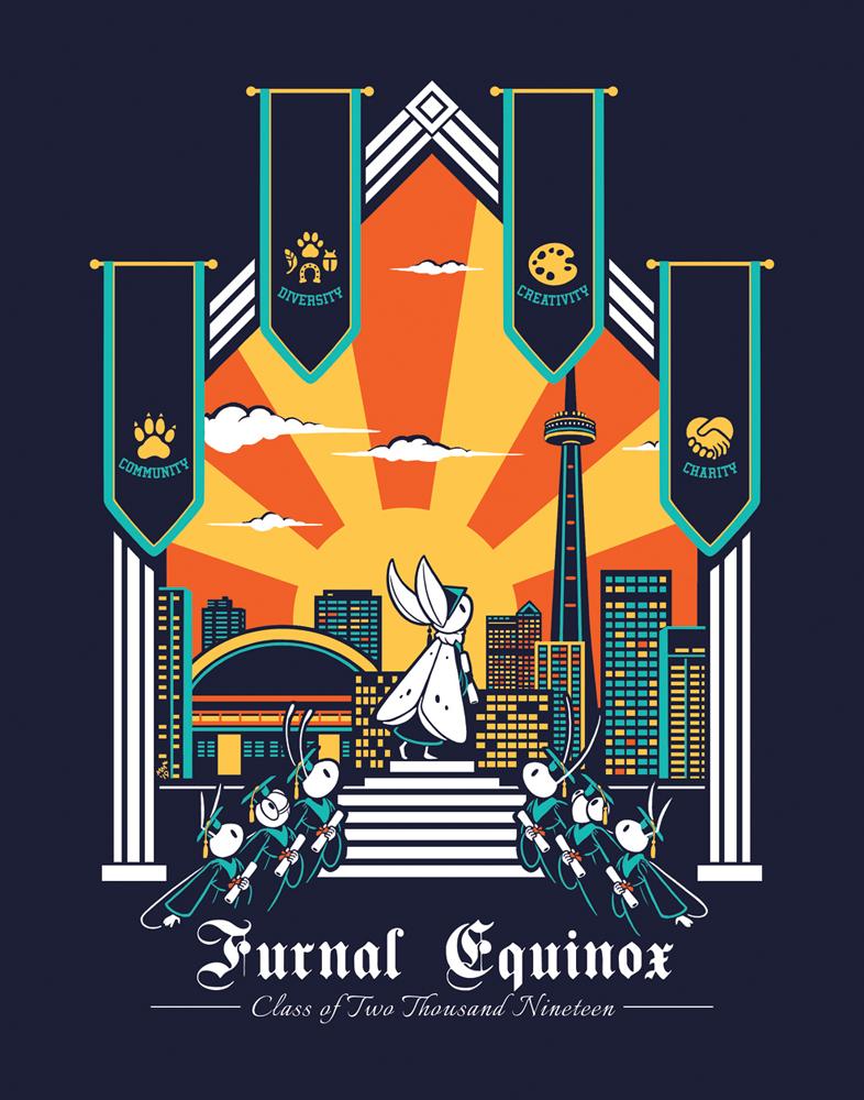 Most recent image: Furnal Equinox 2019 Shirt Design
