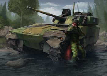 Military Artwork #3 - Dismounted