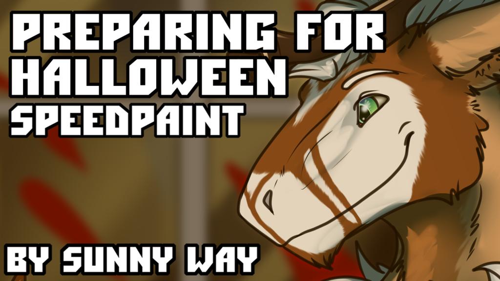 Preparing for Halloween - Speedpaint