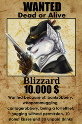 Blizzards first Badge