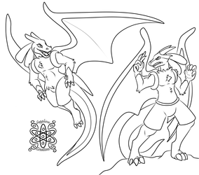Luca + Luro Fight +Commission WIP+