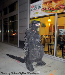 Godzilla wants Subway