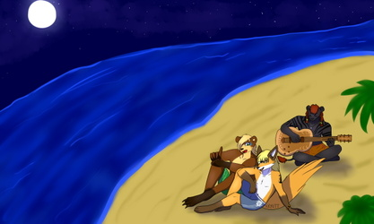 Beach Night :3