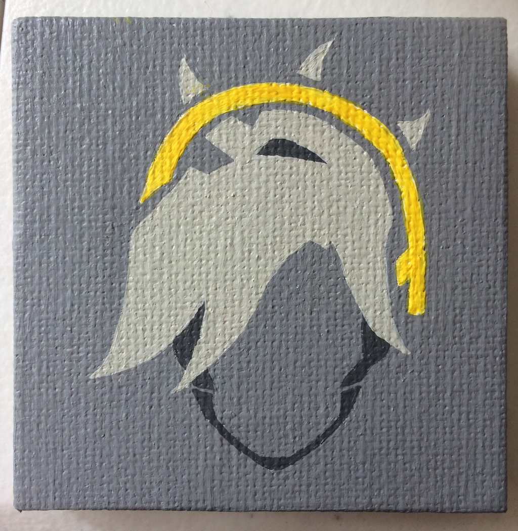 mini painting: Mercy