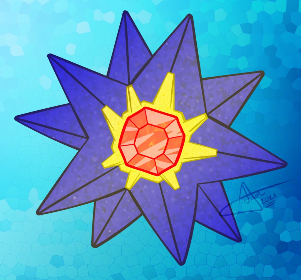 Starmie Underwater