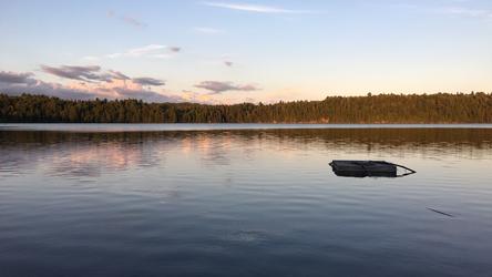 Sunset at Algonquin Provincial Park