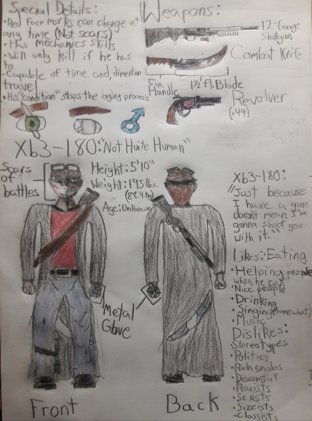 Most recent image: Character Ref Sheet