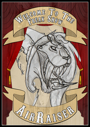 Badge WIP: WElcome to The Freak Show