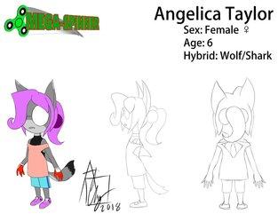 Angelica Taylor Model Sheet (MEGA-SPINNER)