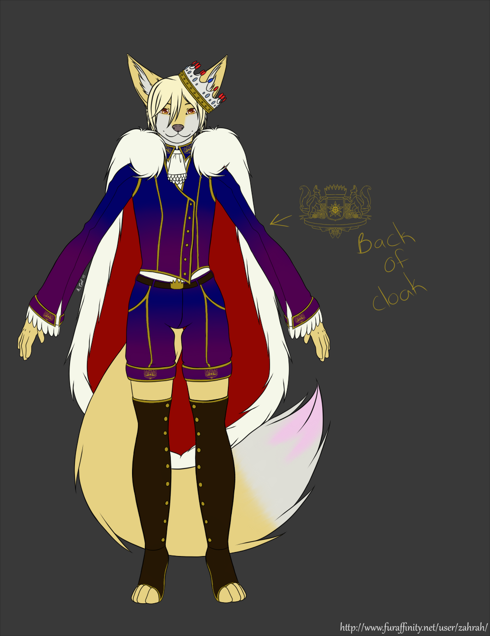 [Contest Entry] Prince Rigel's Outfit
