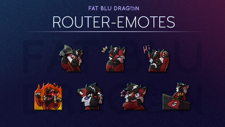 [Commission] Router-Emotes