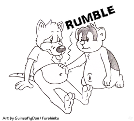 Tyler gets a belly rub