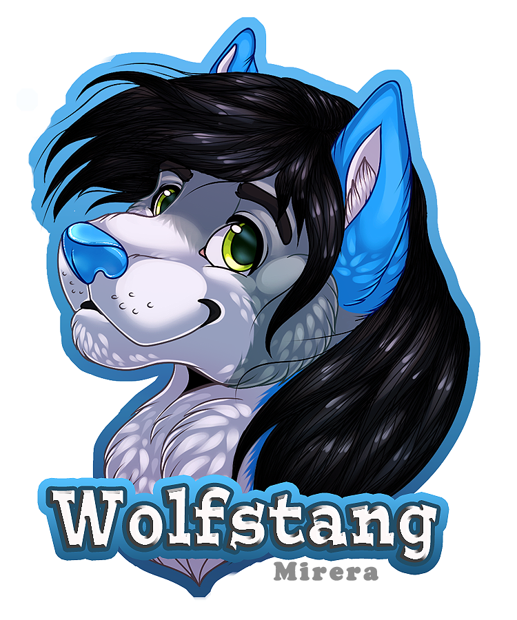 Badge Wolfstang