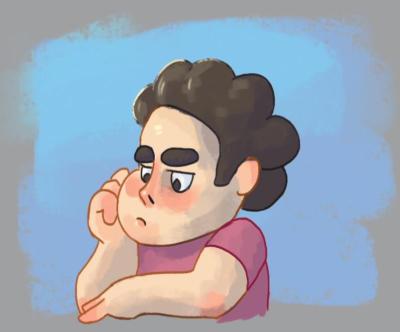 Pouty Steven
