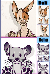 Dali and Kohu icons