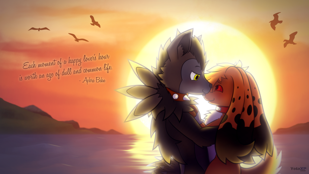 Most recent image: [Commission] Couple's Sunset