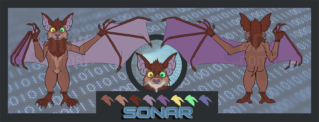 Sonar the tech bat Ref (no tech)