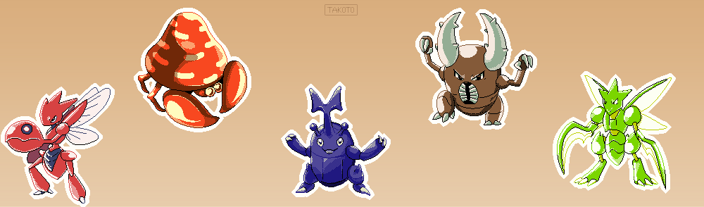 Bug Pokemon Sprites [1]