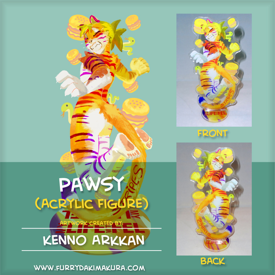 Pawsy Acrylic Stand Figure