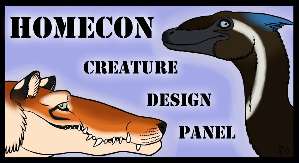 Homecon '15 - Creature Design Panel TODAY @ 7PM EST