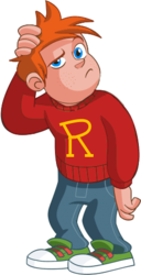 Ron weasley muggle clothes