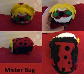 Miraculous Ladybug Mister Bug Stacking Tsum Plush made for myself