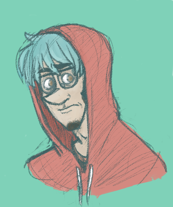 The rare red-hooded loser