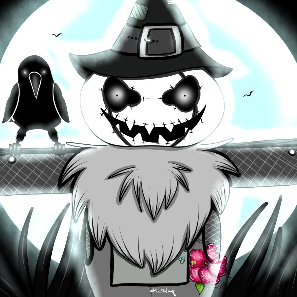 Drawlloween '20 - #10 Scarecrow