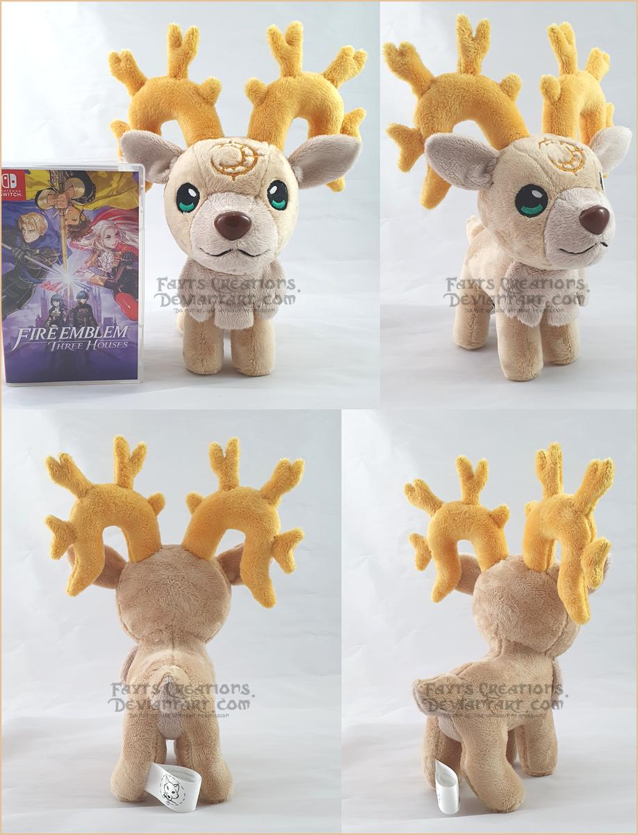 Most recent image: FE3H Golden Deer plush