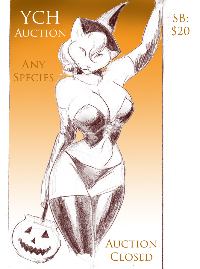 Trick or Treat YCH - Auction Closed
