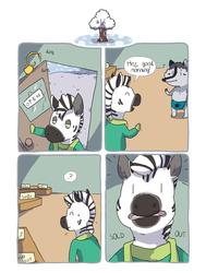Zebra Crossing #16 [comic]