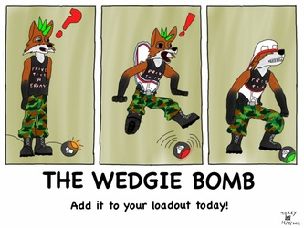 The Wedgie Bomb