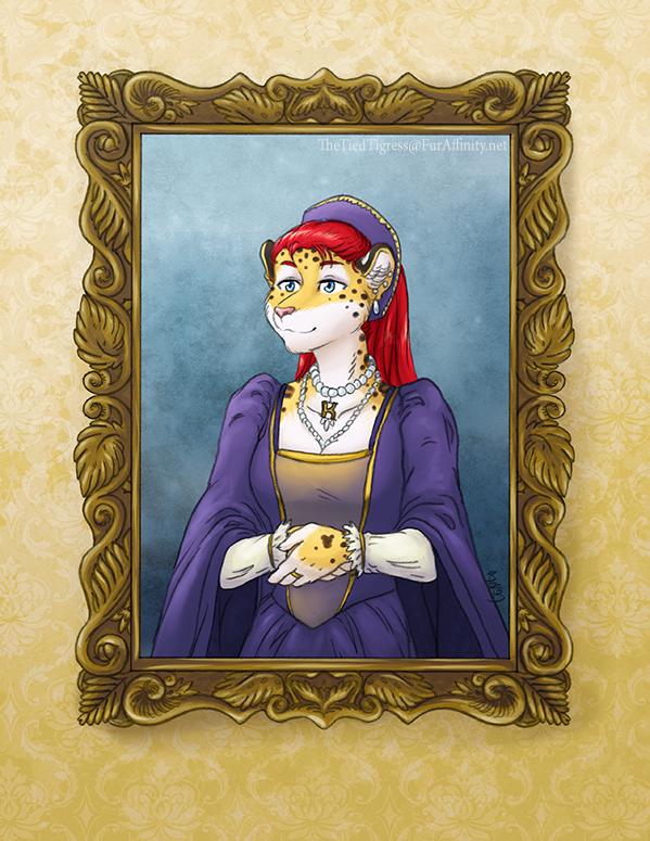 Royal Portrait by 3T