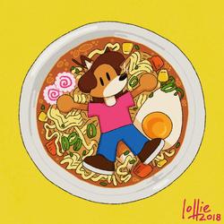 Fussy Noodle Boy