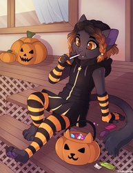 Day after Halloween - Commission