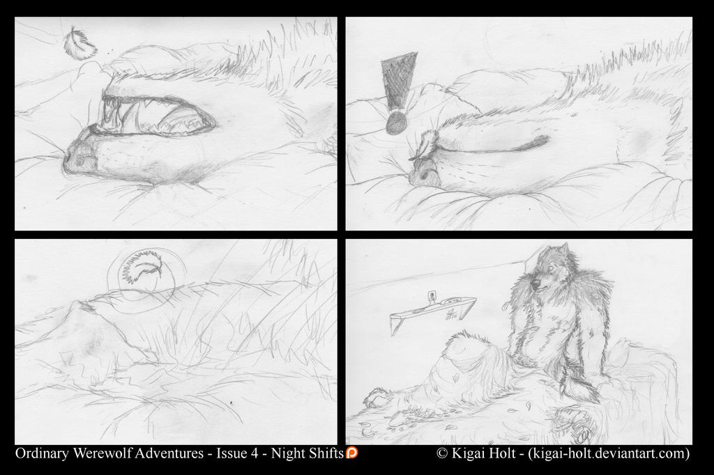Ordinary Werewolf Adventures - Night Shifts